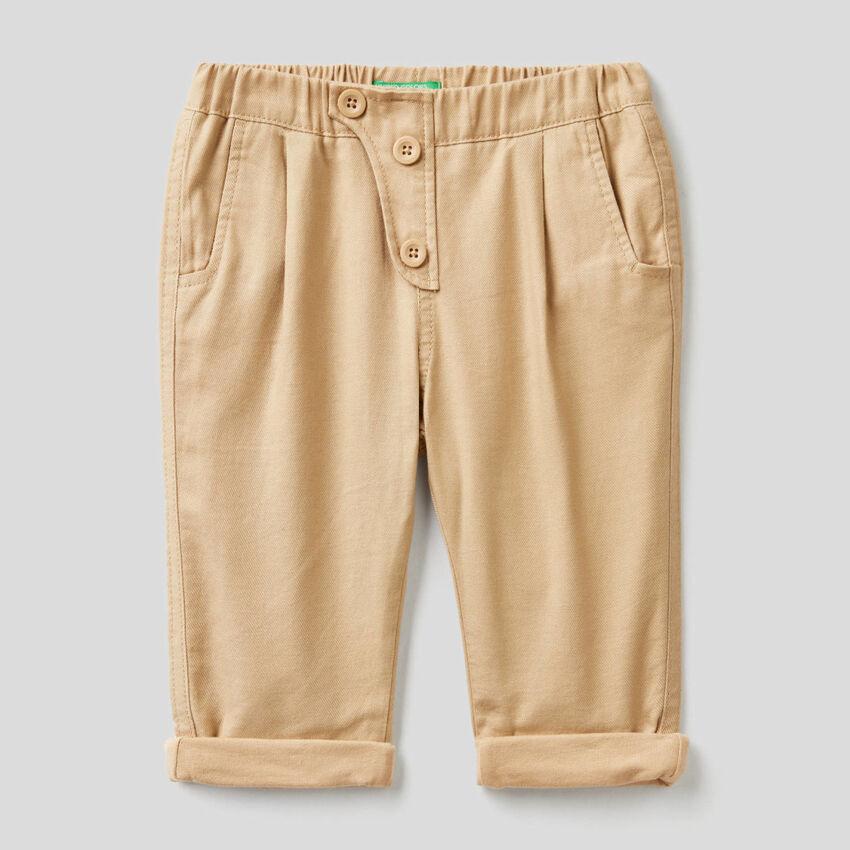 Pantalón suave de franela