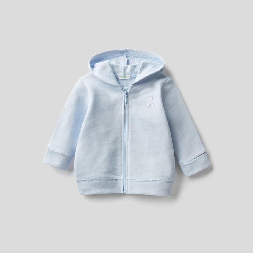 Sudadera con capucha de algodón orgánico