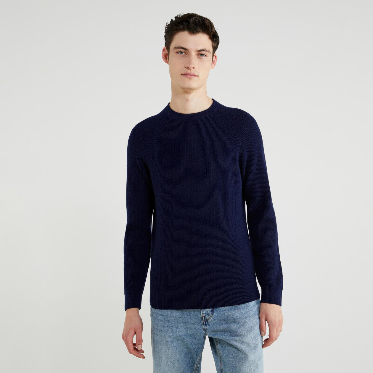 Jersey de lana y cachemir