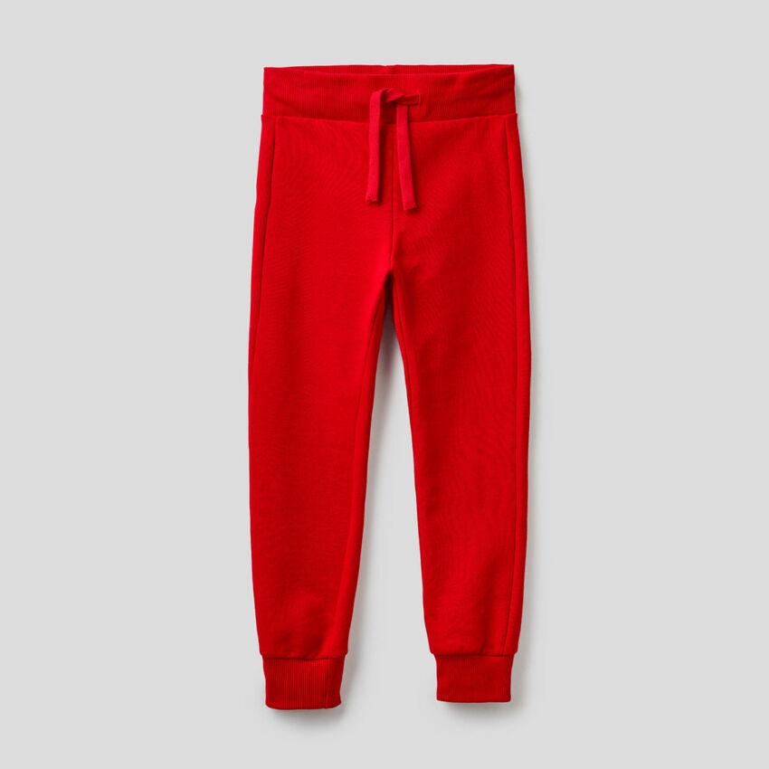 Pantalón de felpa de algodón puro