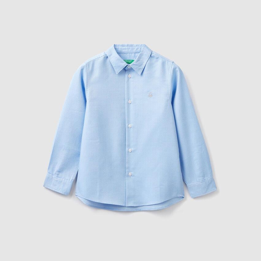 Camisa de 100 % algodón
