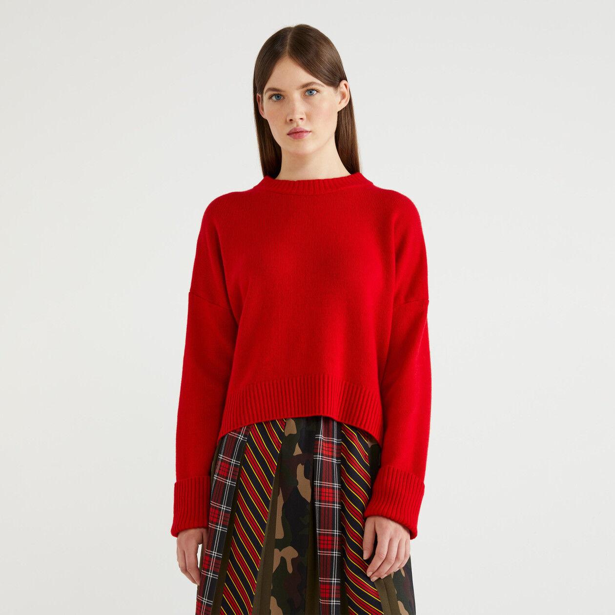 Jersey de lana mixta