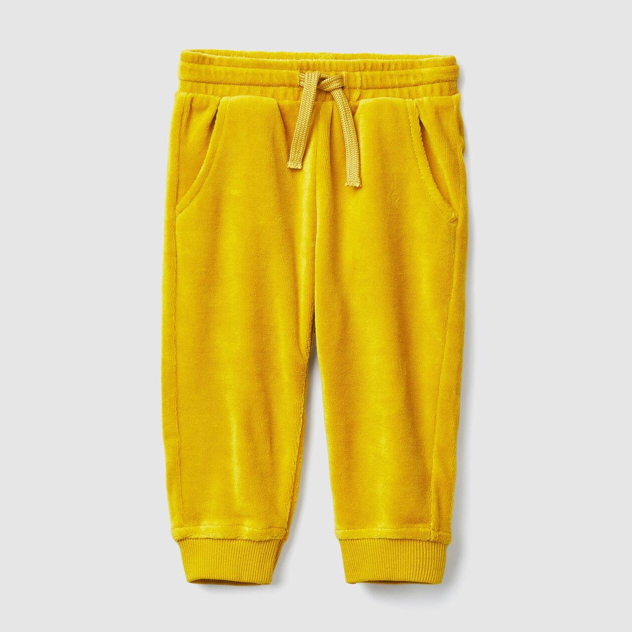 Pantalón de chenilla