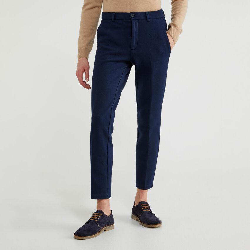 Pantalones chinos elásticos slim fit