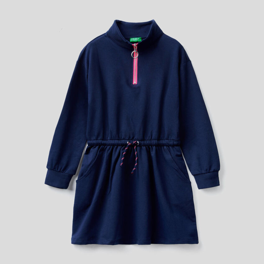 Vestido de felpa de algodón orgánico