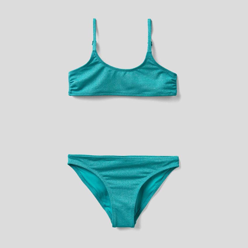 Bikini con lúrex