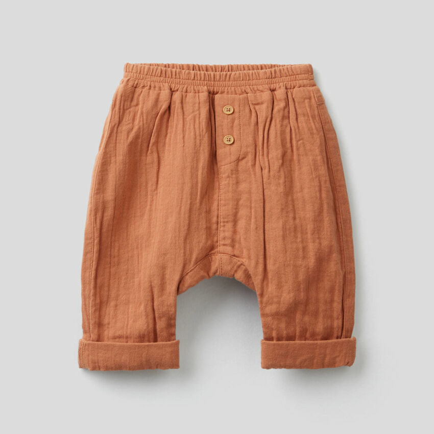 Pantalón de 100 % algodón