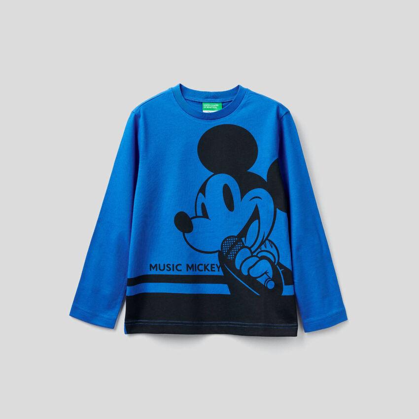 Camiseta de manga larga con estampado de Mickey