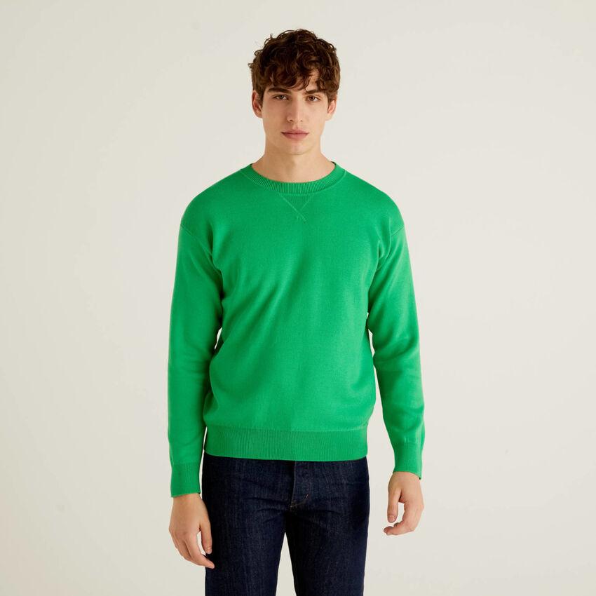 Jersey reversible en algodón tricot