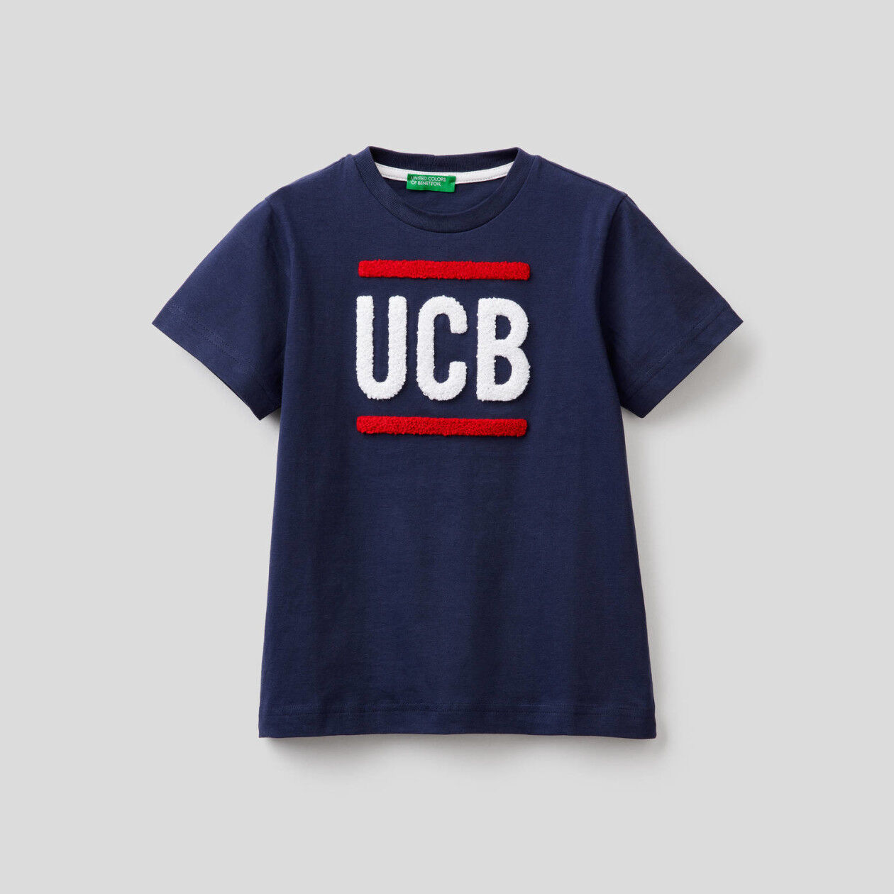 Camiseta de 100% algodón con logotipo