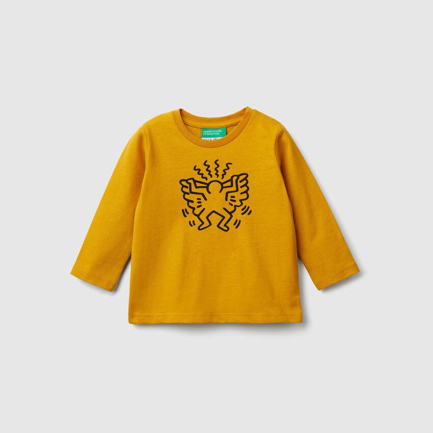 """Camiseta con estampado """"Keith Haring"""""""