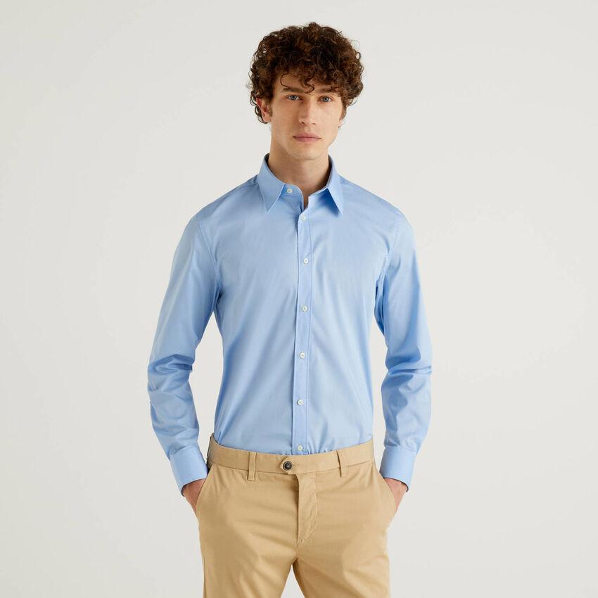 Camisa slim fit lisa