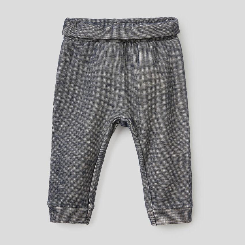 Pantalón largo de felpa