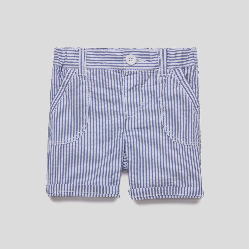 Shorts de rayas