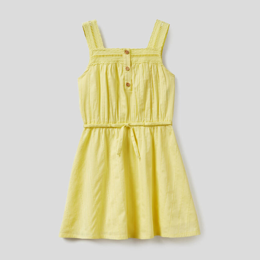 Vestido ligero de 100% algodón