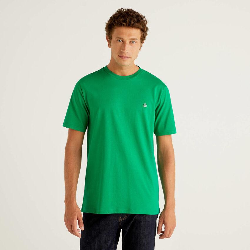 Camiseta básica de 100 % algodón orgánico