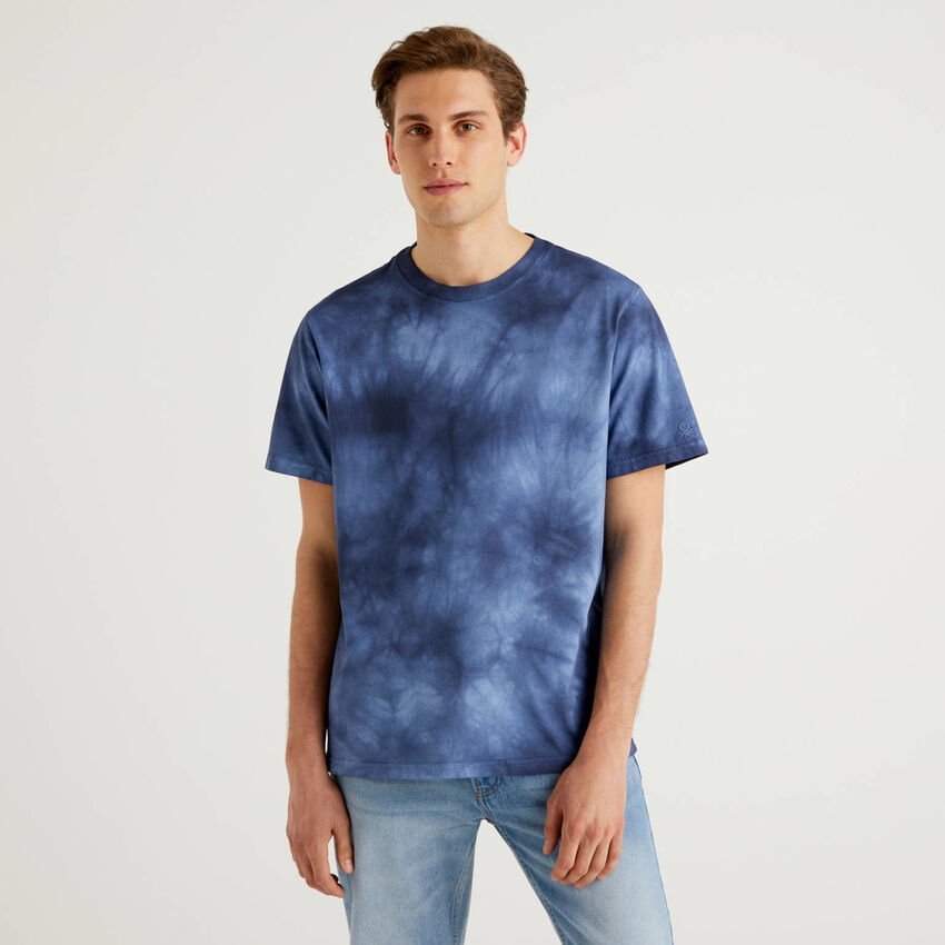 Camiseta con efecto degradado