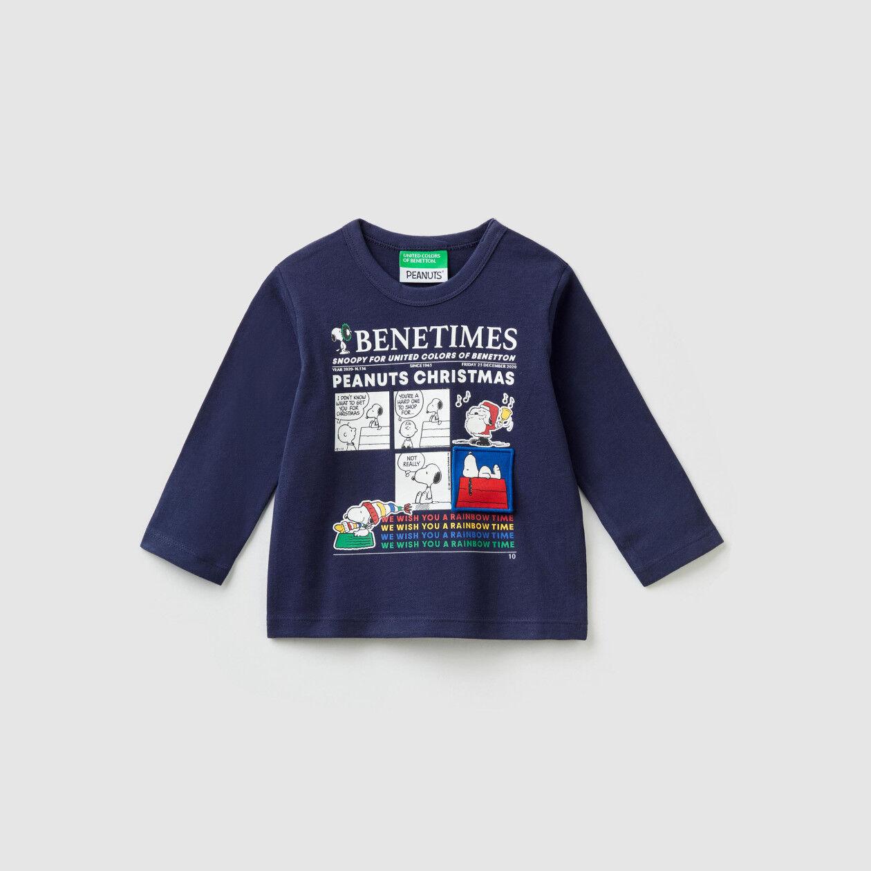 """Camiseta """"Peanuts Christmas"""""""