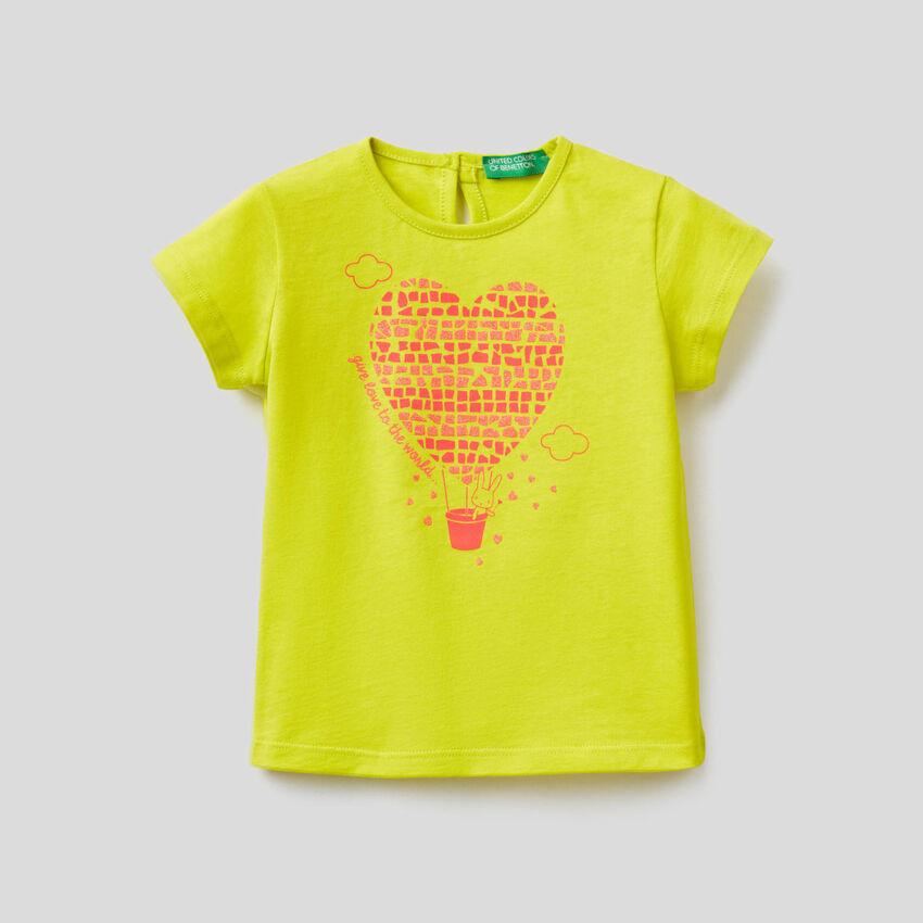 Camiseta de 100% algodón