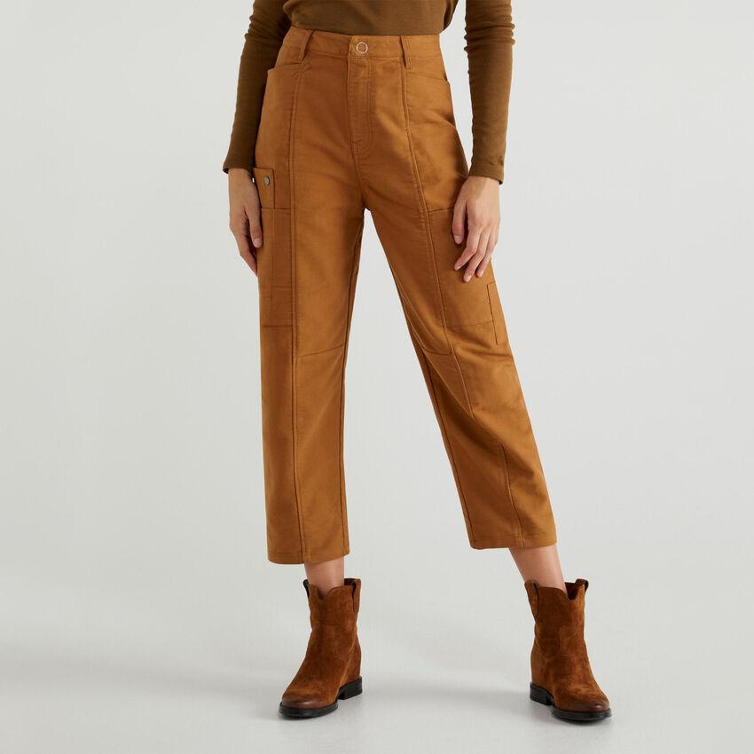 Pantalón de fustán