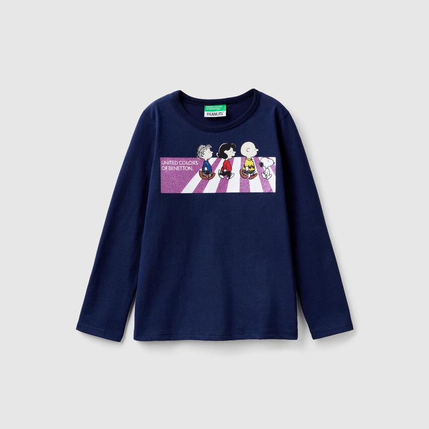 """Camiseta con estampado de """"Snoopy"""""""