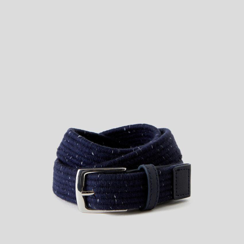 Cinturón de tejido elástico