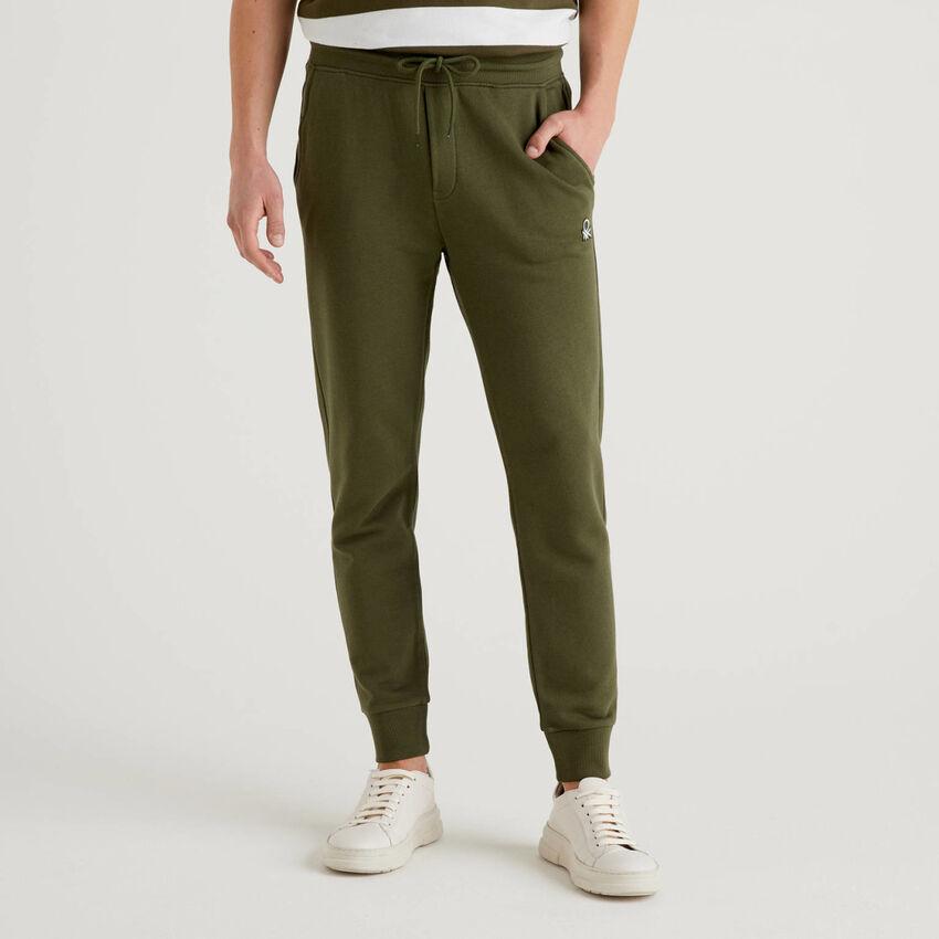 Pantalón de felpa de 100% algodón