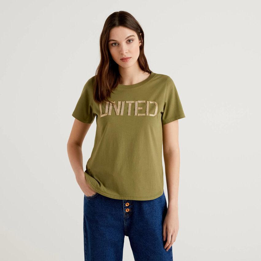 Camiseta united de 100% algodón