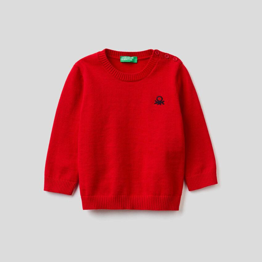 Jersey de tricot de 100 % algodón