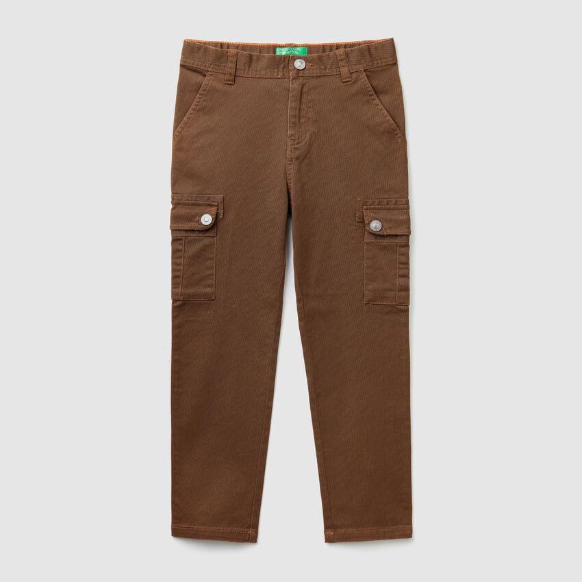 Pantalones cargo rectos