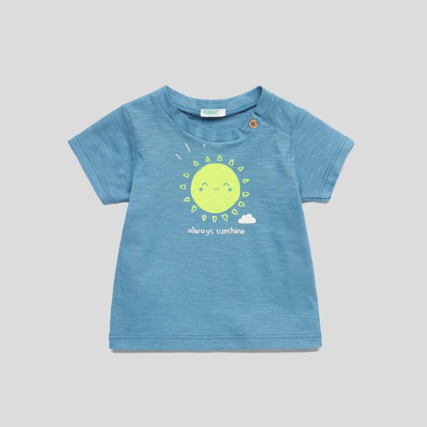Camiseta de punto con estampado