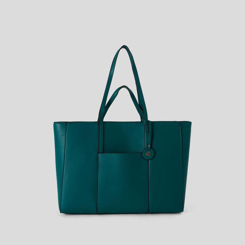 Shopping bag con asas dobles