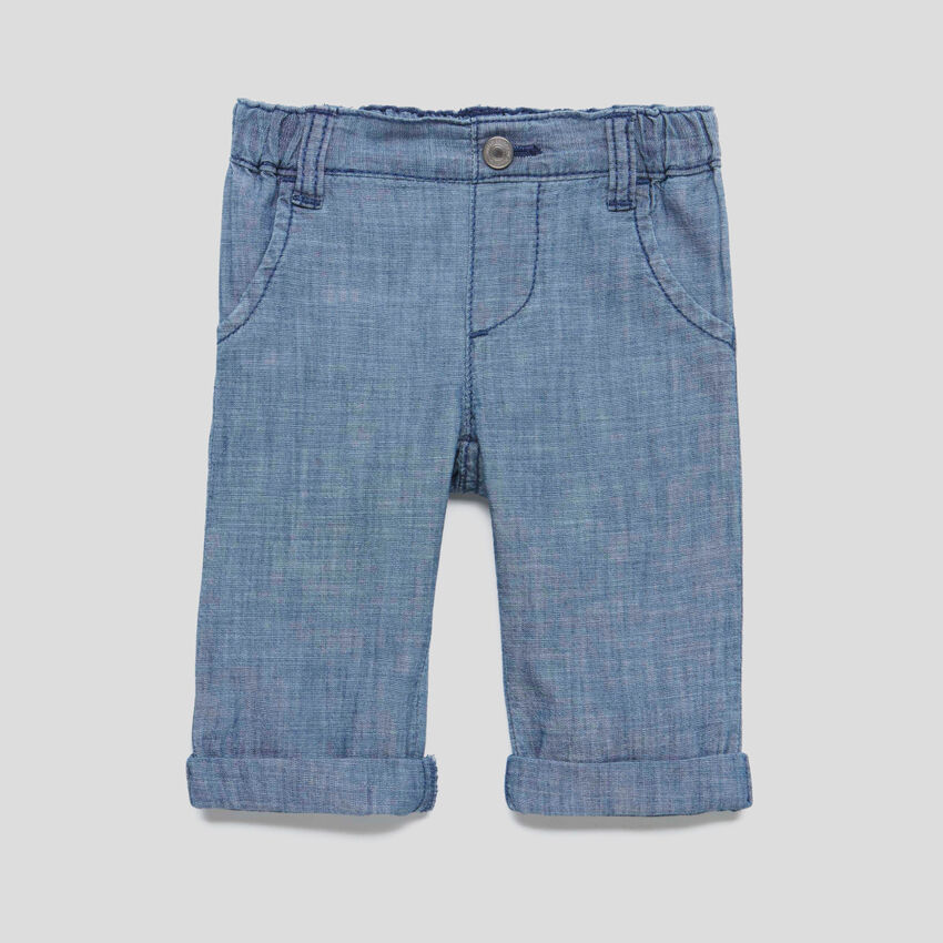 Pantalón de cambray