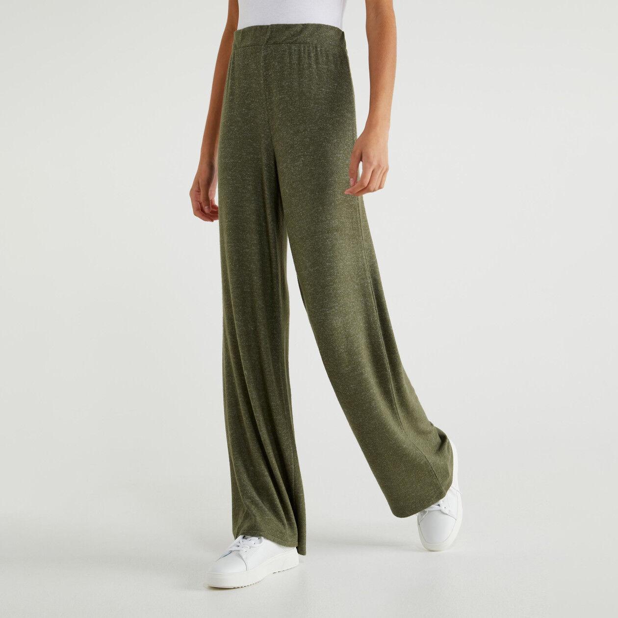 Pantalón en tejido de punto