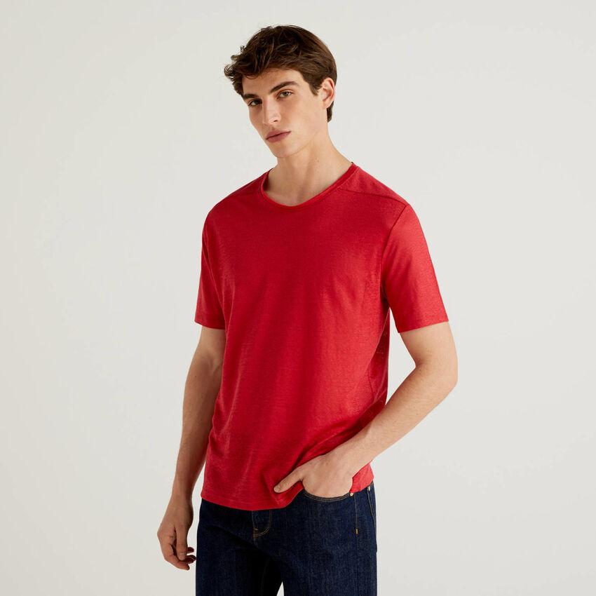 Camiseta de puro lino