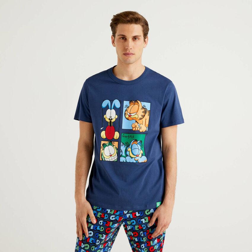 Camiseta de Garfield de 100% algodón