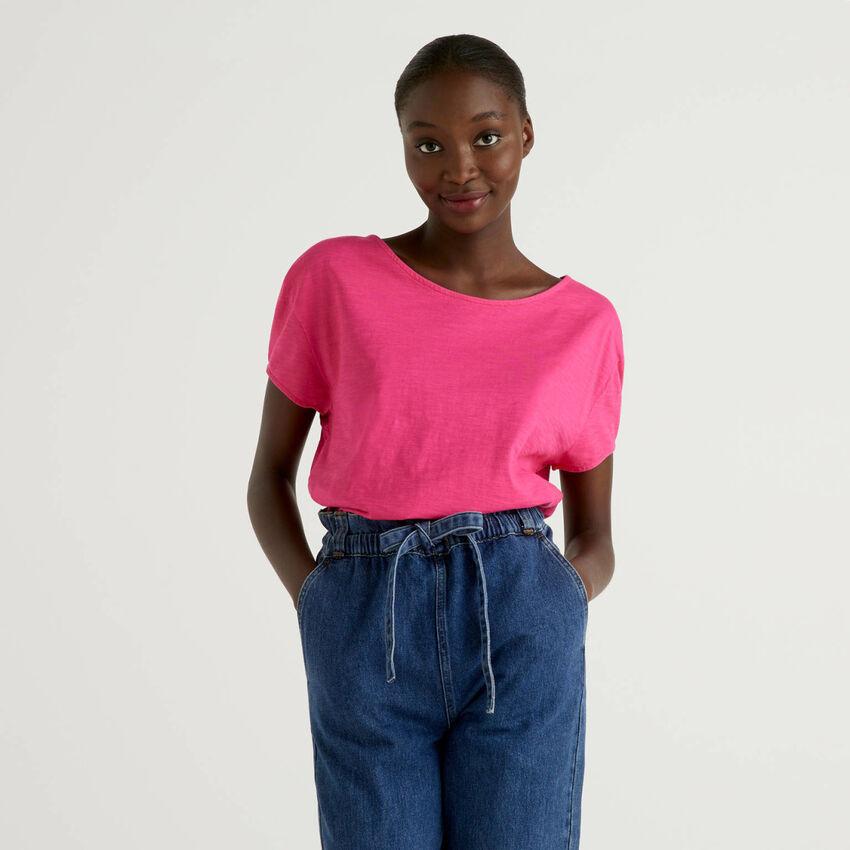 Camiseta oversize de 100 % algodón