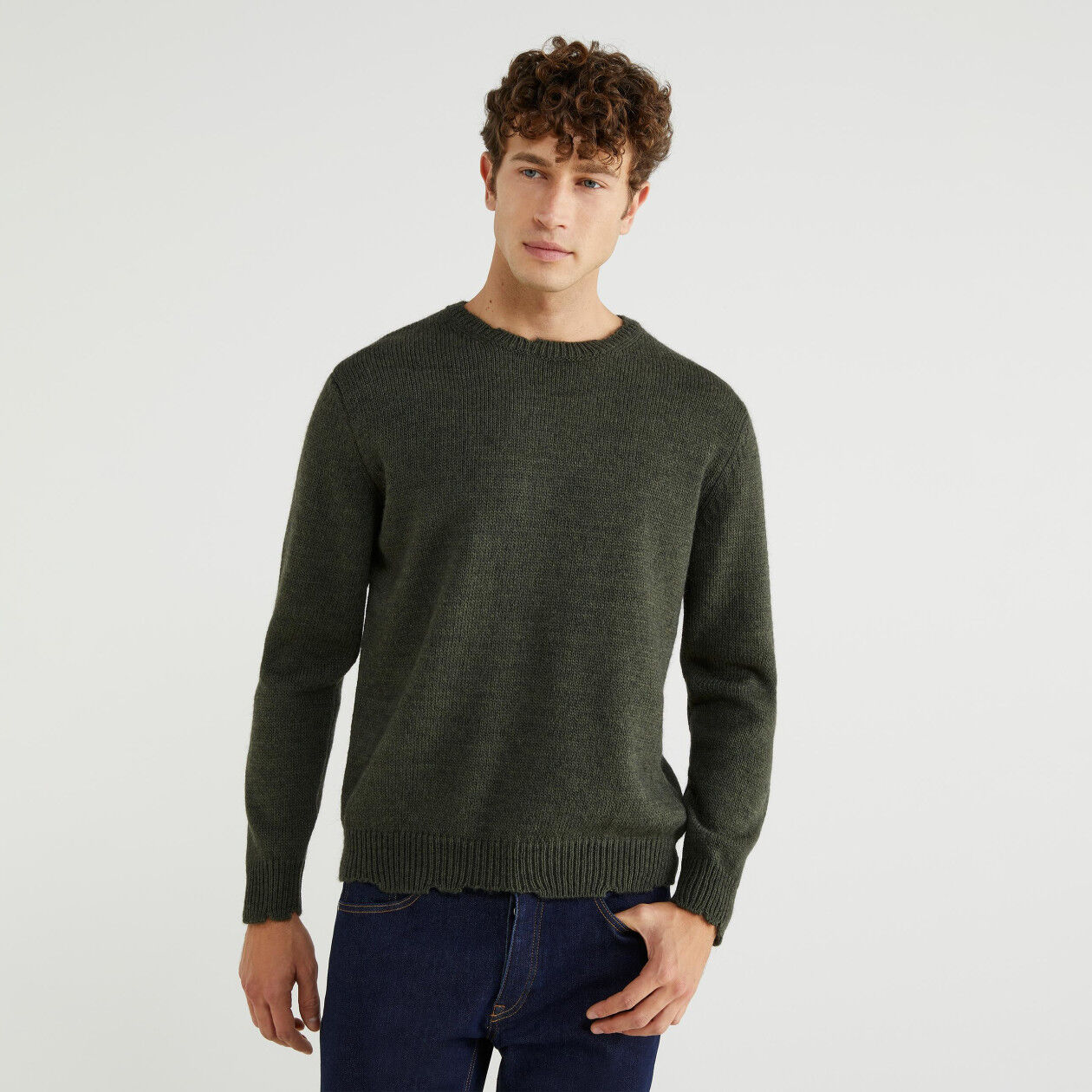Jersey de alpaca mixta
