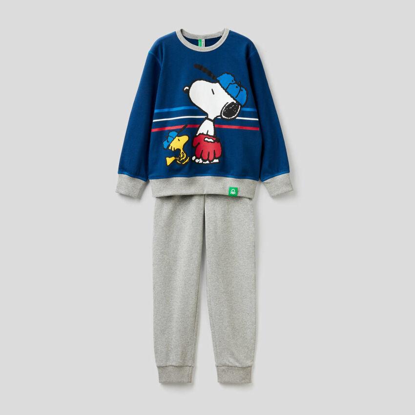 Pijama de los Peanuts de 100 % algodón