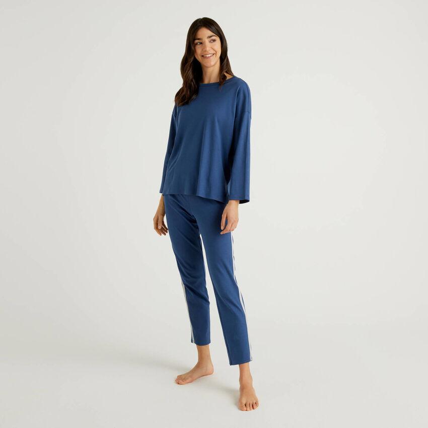 Pijama de algodón puro