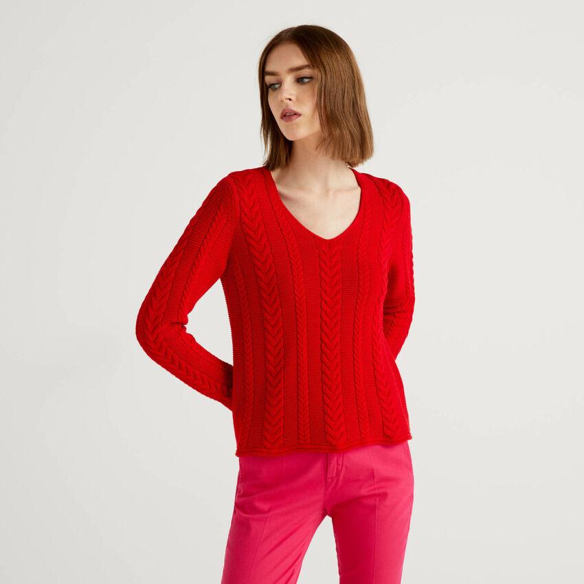 Jersey de ochos de algodón puro