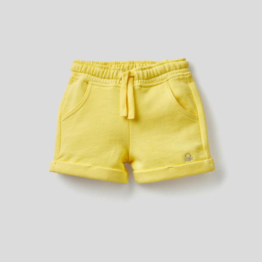 Pantalón corto de felpa ligera