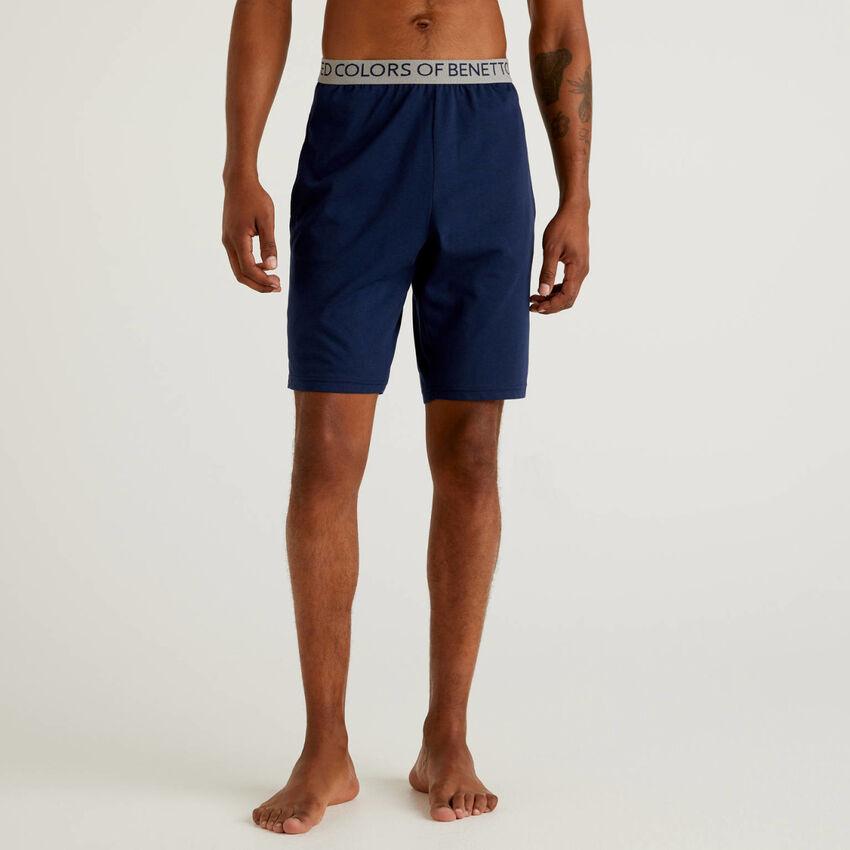 Pantalón corto de algodón orgánico