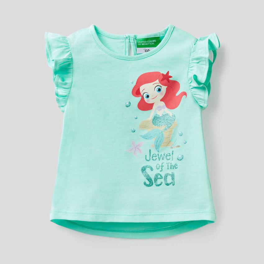 Camiseta con baby de princesa Disney