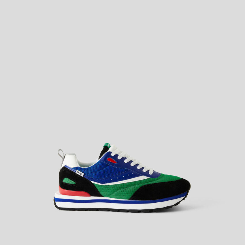 Zapatillas multicolores