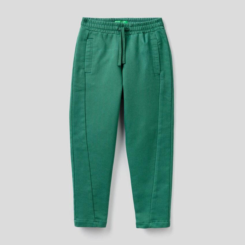 Pantalón deportivo de efecto felpa