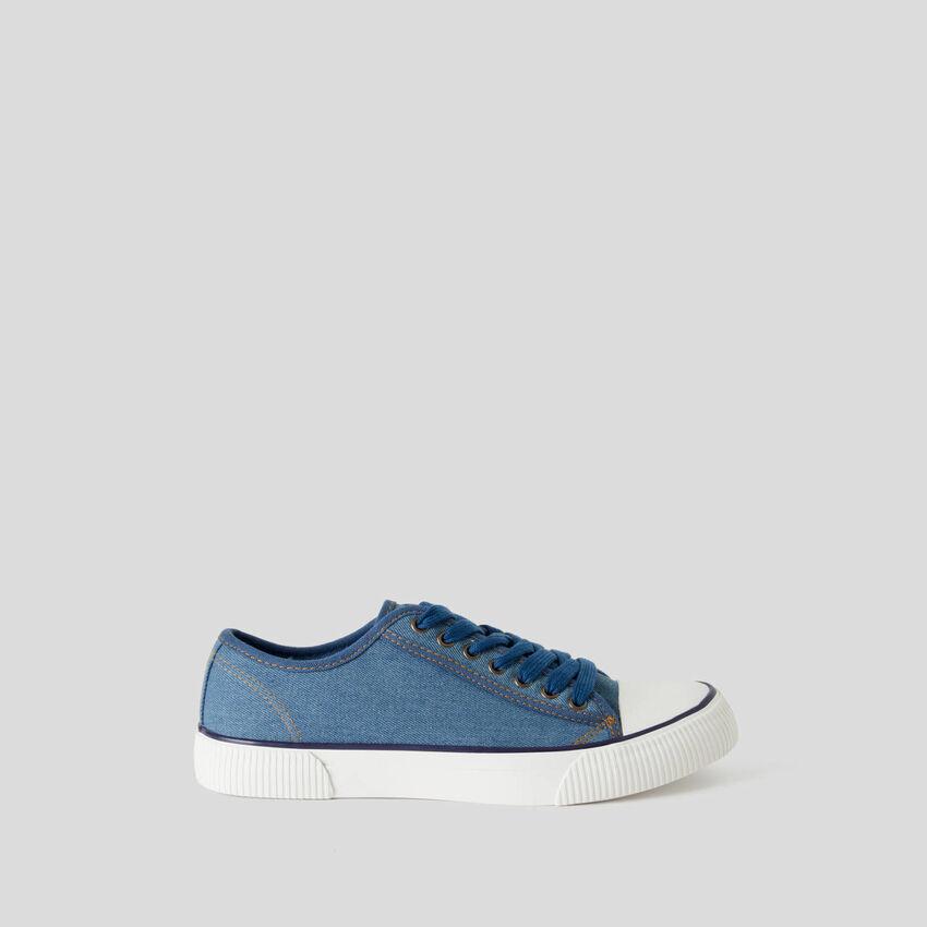 Sneakers de 100% algodón