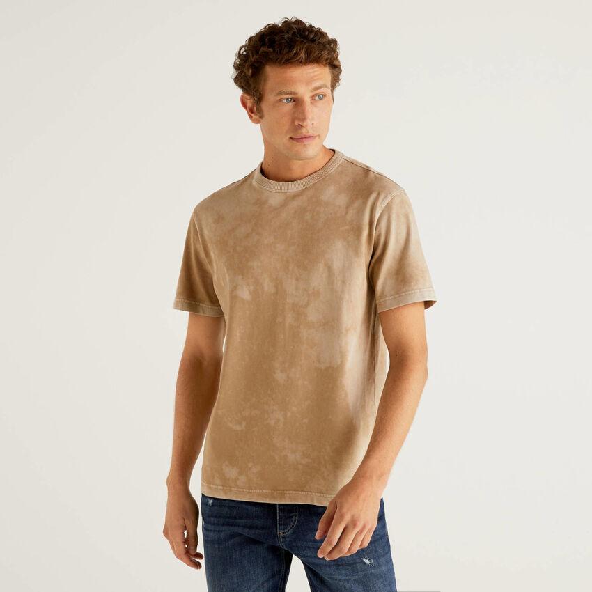 Camiseta tie-dye de 100 % algodón