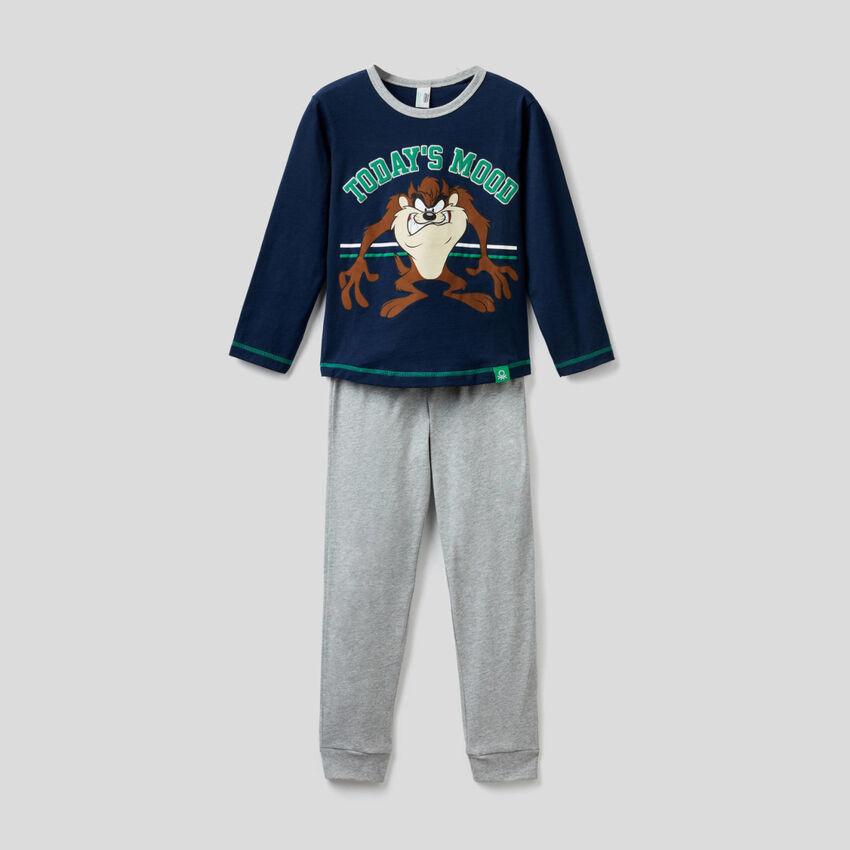 Pijama con estampado Looney Tunes