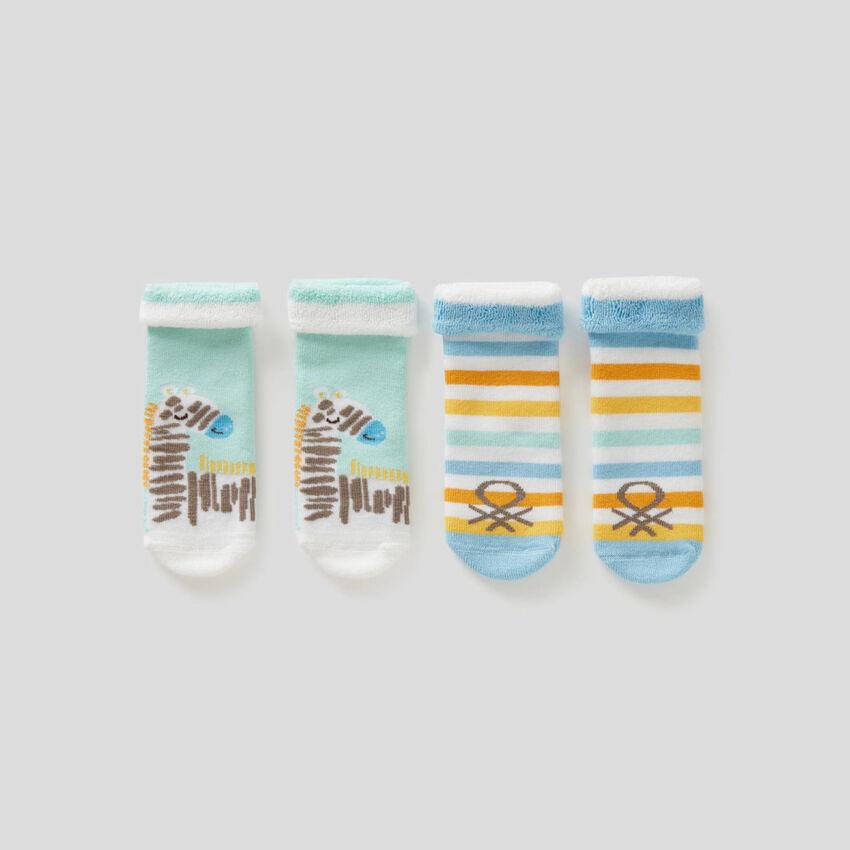Pack de calcetines de rizo
